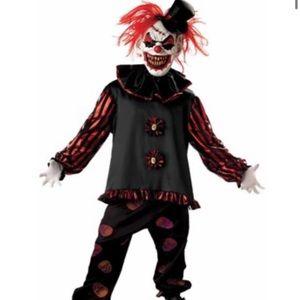 Kids carver the clown Halloween costume XL 14/16